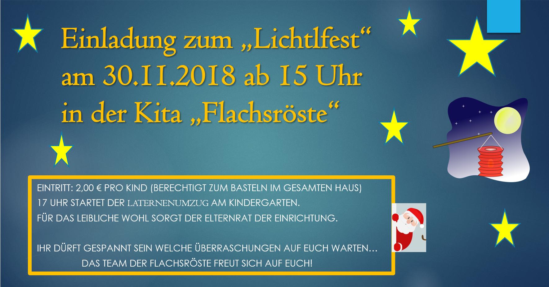 Lichtlfest Kita Flachsroeste Marienberg