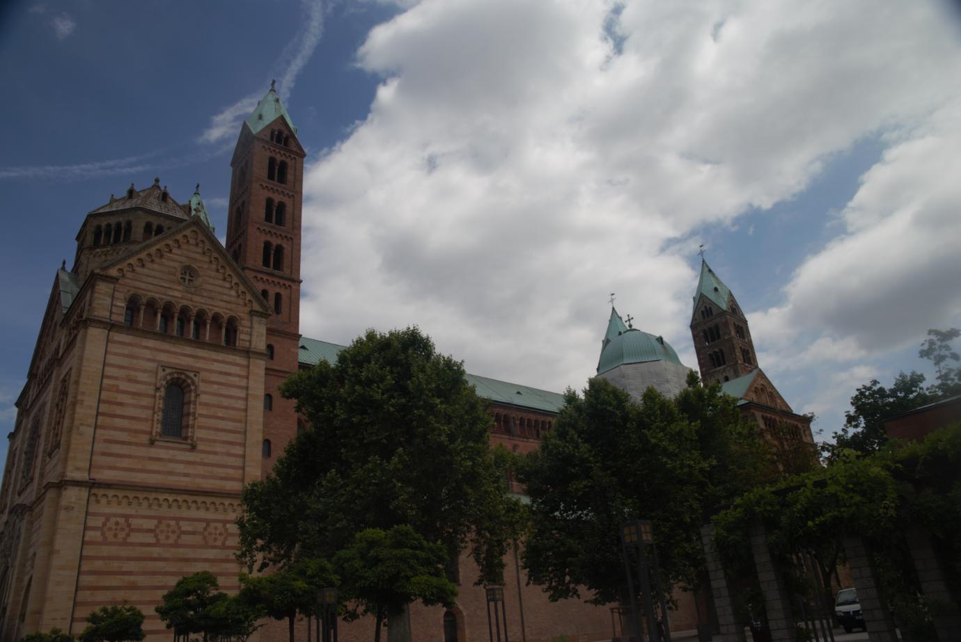 Auf Entdeckungsreise in die Stadt zum Dom von Speyer.