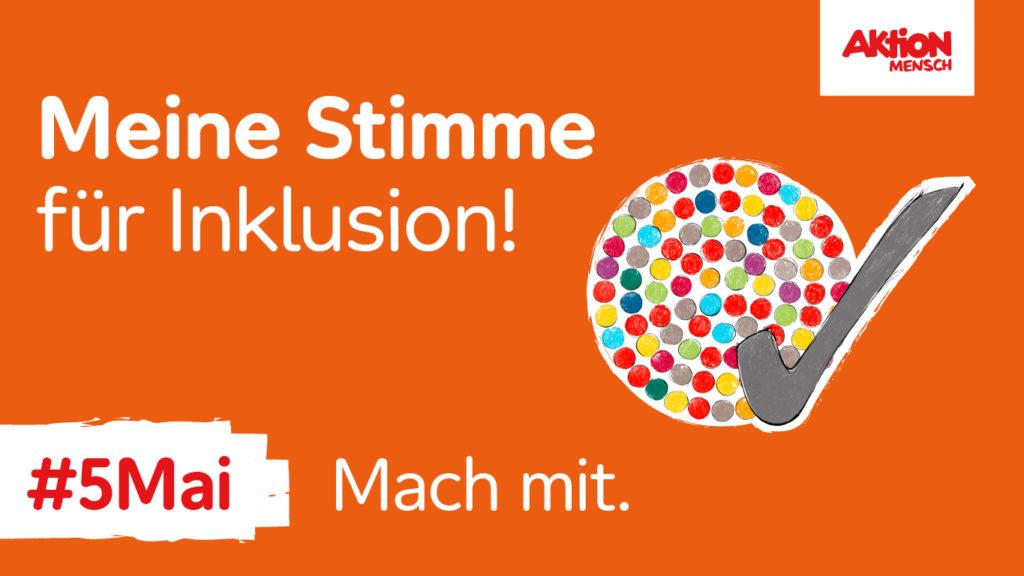 Am 5. Mai setzen sich deutschlandweit Aktivist*innen für die Gleichstellung von Menschen mit Behinderung ein.