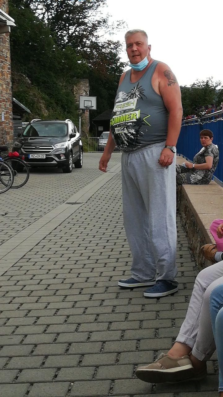 Ein großer Mann aus Sachsen in Bingen
