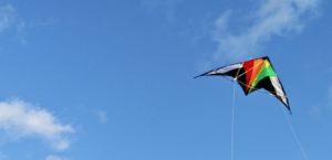 Drachen am Pöhlberg in Annaberg steigen lassen